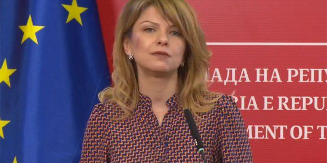 Лукаревска: Кривична одговорност за компаниите кои ја злоупотребија државната помош