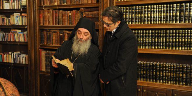 Пендаровски покровител на илјадагодишнината од основањето на Бигорскиот манастир