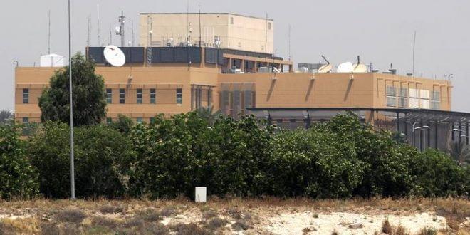 Напад врз Амбасадата на САД во Багдад: Три лица повредени