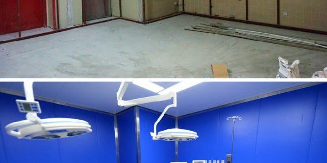 Филипче: Како изгледаше претходно, а како изгледа денеска новата операциона сала на Клиниката за торакална и васкуларна хирургија