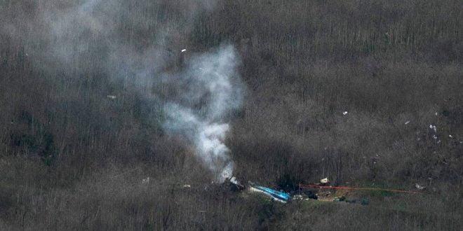 Властите во Лос Анџелес: Извлекувањето на телата од местото на хеликоптерската несреќа ќе потрае неколку дена