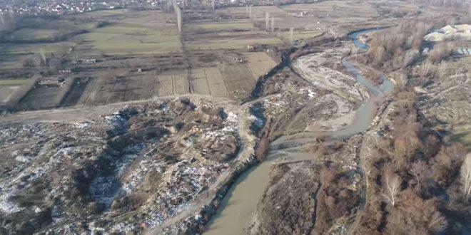 Град Скопје започнува со расчистување на депонија крај Лепенец со големина колку 15 фудбалски игралишта (ВИДЕО)