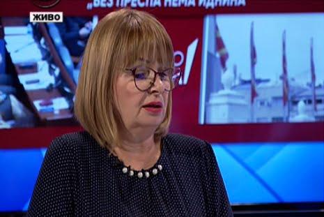 Калеска-Ванчева: Сите пратеници го користат името Северна Македонија и патуваат во странство под тоа име