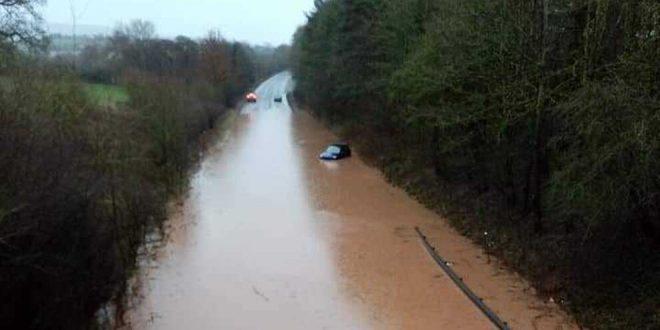 """BBC ја најави бурата """"Денис"""" на перверзен начин (фото)"""