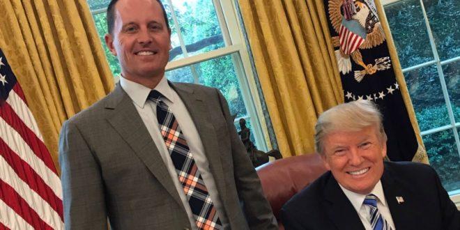 """""""Малиот Трамп"""" ќе му се приклучи на """"големиот Трамп"""": Колкава моќ доби Ричард Гренел од американскиот претседател?"""