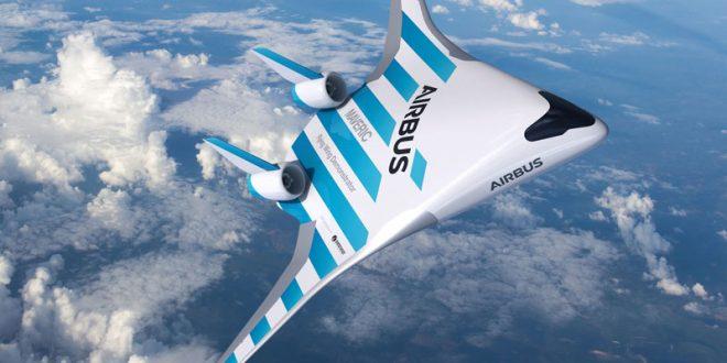 """Револуционерен дизајн за патнички авион од страна на """"Airbus"""""""