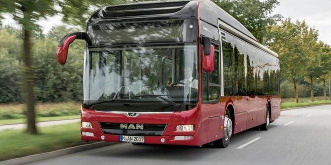 """Новите """"МАН"""" еко-автобуси ќе сообраќаат низ централното градско подрачје"""