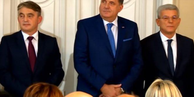 """Порака до Додик од Претседателството на БиХ: """"Постои црвена линија што не смее да се премине"""""""