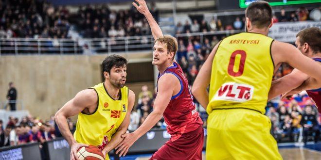 Пораз во Перм: Храбра игра на нашите кошаркари против Русија