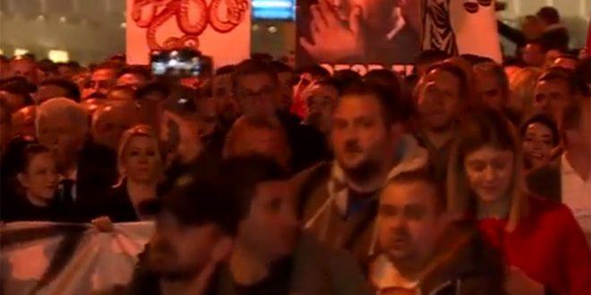 Реакции за денешниот протест на ВМРО-ДПМНЕ: Супер идеја, таман да се потсетиме како изгледаше правдата во нивно време