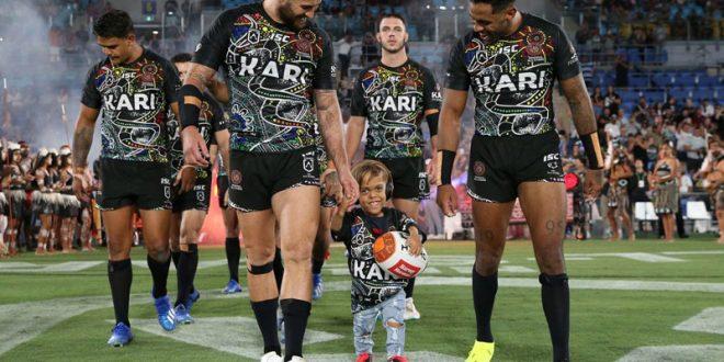 Малтретираното момче ѕвезда на рагби натпревар во Австралија