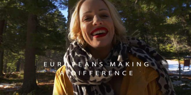 """ВИДЕО: Тамара Тодевска во новата кампања на Европската Унија за """"Европејците кои прават разлика"""""""