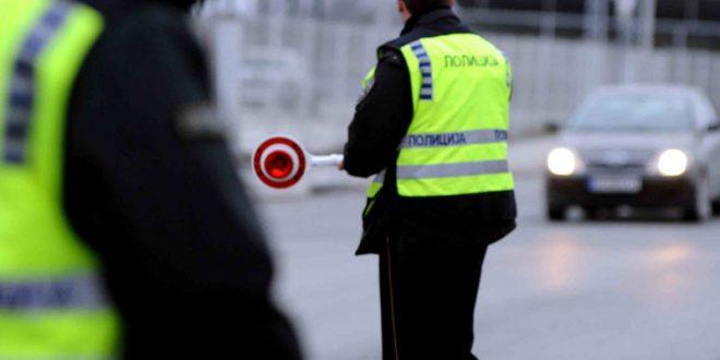 Приведени 102 лица за време на вчерашниот полициски час