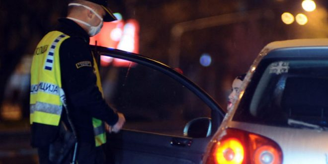 59 лица не го почитувале полицискиот час, приведени 28 лица