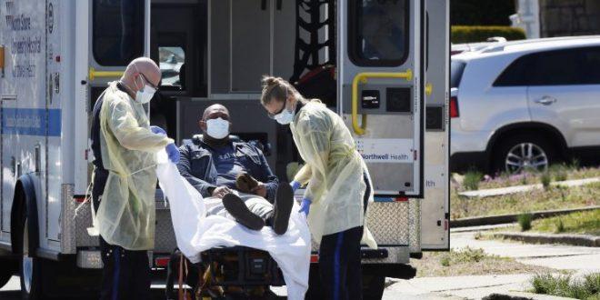 САД: Втор ден по ред околу 2.000 смртни случаи од новиот коронавирус