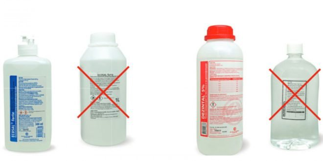 Алкакоид: На пазарот се појавија фалсификати на Ecosal® Forte и Dezintal®
