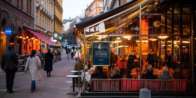Во Шведска повеќе од 100 починати за еден ден