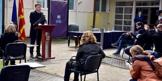 Шилегов: Ова лето улиците во Скопје ќе продолжат да се градат, багерите повторно ќе работат