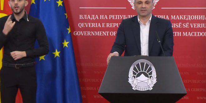 Филипче: Пикот на Ковид 19 го очекуваме на крајот на месец април