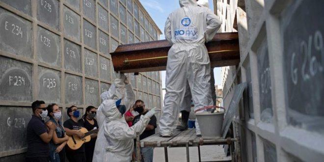 Бројот на починати од Ковид-19 во Бразил надмина 35.000