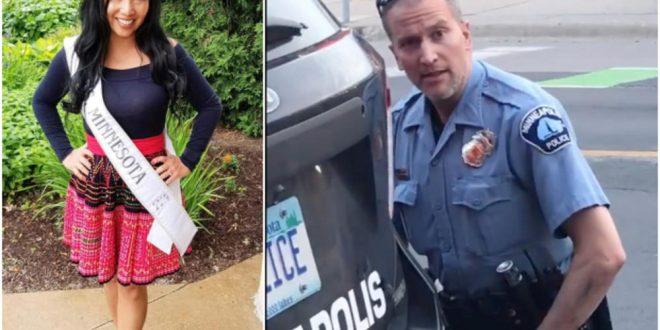 Сопругата на полицаецот кој го уби Флојд е згрозена: Веднаш поднела барање за развод (фото)