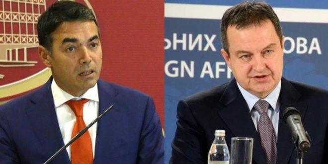 Телефонски разговор Дачиќ – Димитров за олеснување на рестриктивните мерки меѓу Србија и С. Македонија