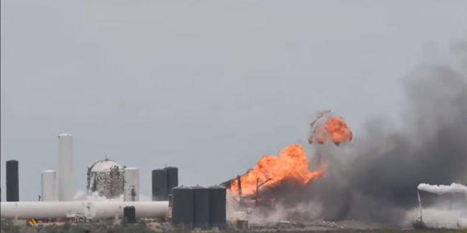 Експлодира прототипот на вселенското летало на Елон Маск (видео)