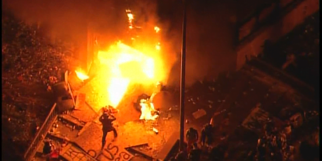 Минеаполис гори: Активирана Националната гарда поради големите немири на улиците