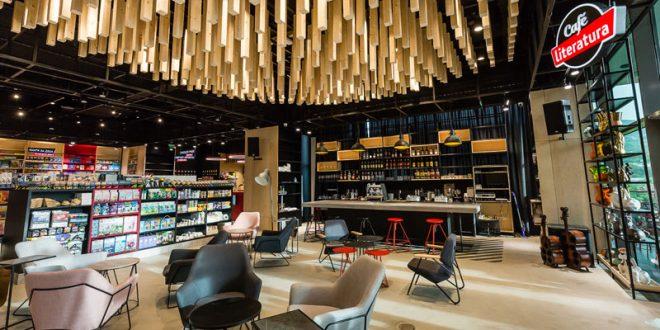 Почнува со работа Cafe Literatura: Најубавото кафе во најголемата книжарница во Македонија