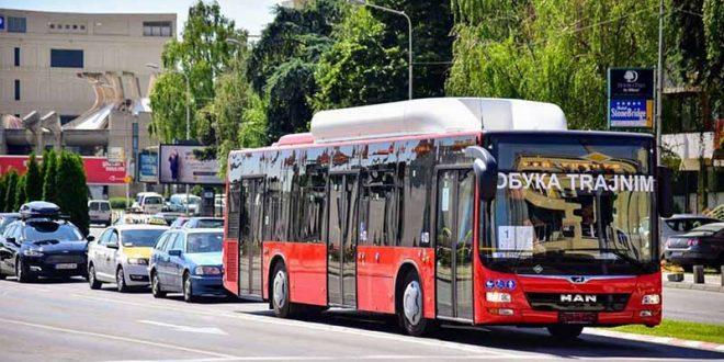 Пробно возење на новите еко автобуси