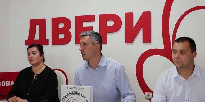 Обрадовиќ: Граѓанска непослушност за да падне владата