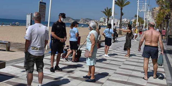 Нови 100 нови жаришта во Шпанија во текот на викендот