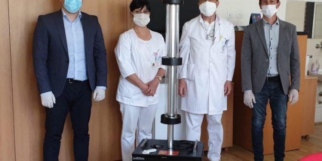 """""""УВ Гард"""" уреди донирани на Инфективна клиника, Клиничката болница во Тетово и Болницата во Прилеп"""