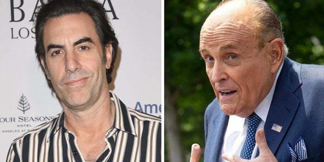 """Саша Барон Коен го """"насамари"""" и Руди Џулијани, тој му викна полиција"""