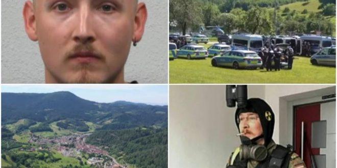 Потрагата за германскиот Рамбо се уште трае: Откриено како разоружал 4 полицајци и исчезнал во шума (ВИДЕО)