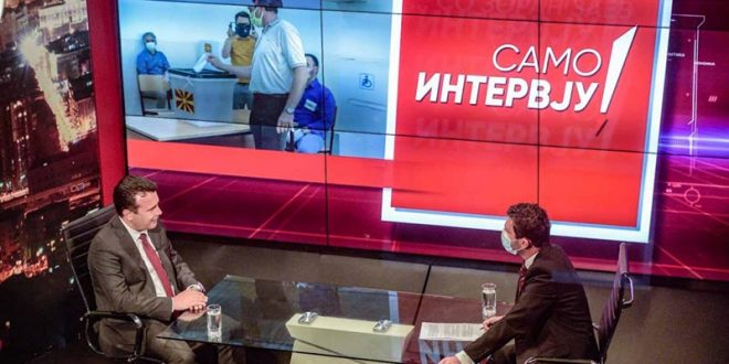 Заев на Канал 5: Граѓаните да гласаат во масовен број, со Филипче и оваа здравствена комисија сме безбедни