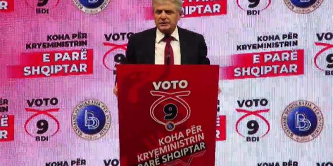 Ахмети за прв премиер Албанец: Убеден сум дека нема сила која ќе ја запре идејата на ДУИ