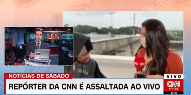 Новинарка на Си-Ен-Ен ограбена во пренос во живо (ВИДЕО)