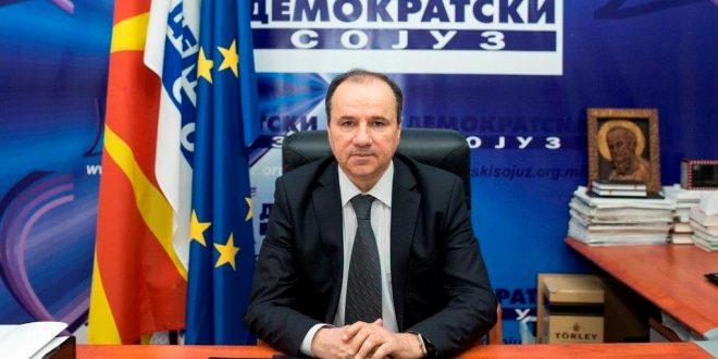 ДС: Граѓаните гласаа за европска Македонија, Демократскиот сојуз е парламентарна партија