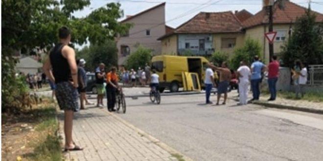 Комбе со мигранти предизвика тешка сообраќајка во Струмица, повредени три лица