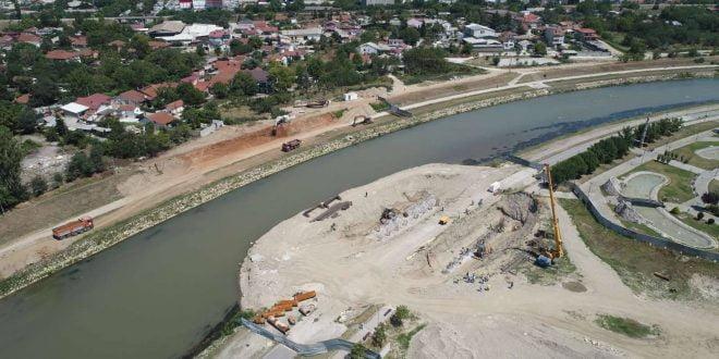 За помалку од две години, новиот мост на Вардар ќе ги поврзува Аеродром и Гази Баба