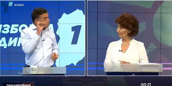 """Димитров: Мислев Силјановска е """"обланда"""" на злосторничките политики, таа се покажа како нивен суштински дел (ВИДЕО)"""
