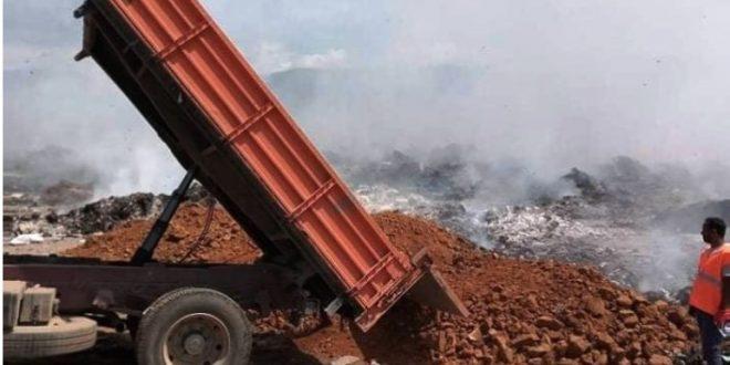 Избувна пожар кај неготинската депонија, од Комуналец се сомневаат дека е подметнат пред избори