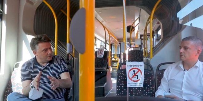 Шилегов: Скопје стана дел од европските метрополи коишто користат екоавтобуси (ВИДЕО)