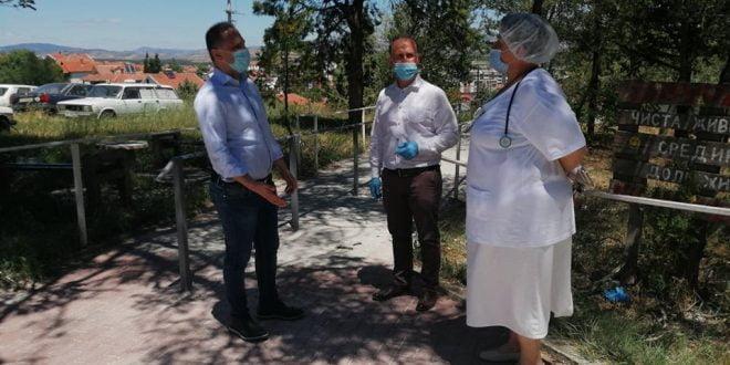 Филипче во Свети Николе: Во Здравствениот дом има добра организациска поставеност на овој бран на Ковид-19