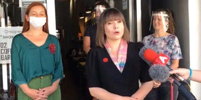 Царовска: Апасиев покажува омраза кон жените кои се активни и гласни во политичкото делување