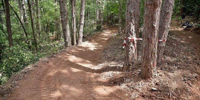Се прави нова планинска велосипедска патека на Водно (ФОТО)