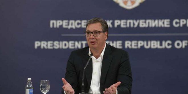 Вучиќ: Бројот на пациенти со корона е намален, но не е време да се релаксираме