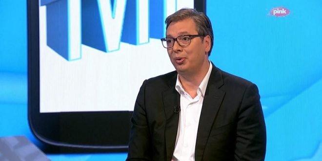 Вучиќ: Ветив мир и стабилност, ќе ги има, насилниците и хулиганите нема да победат