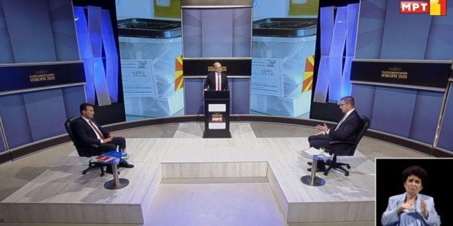 Заев кон Мицкоски: За НАТО сите се радувавме, само вие не